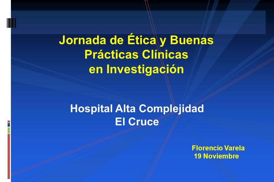 Jornada de Ética y Buenas Prácticas Clínicas en Investigación