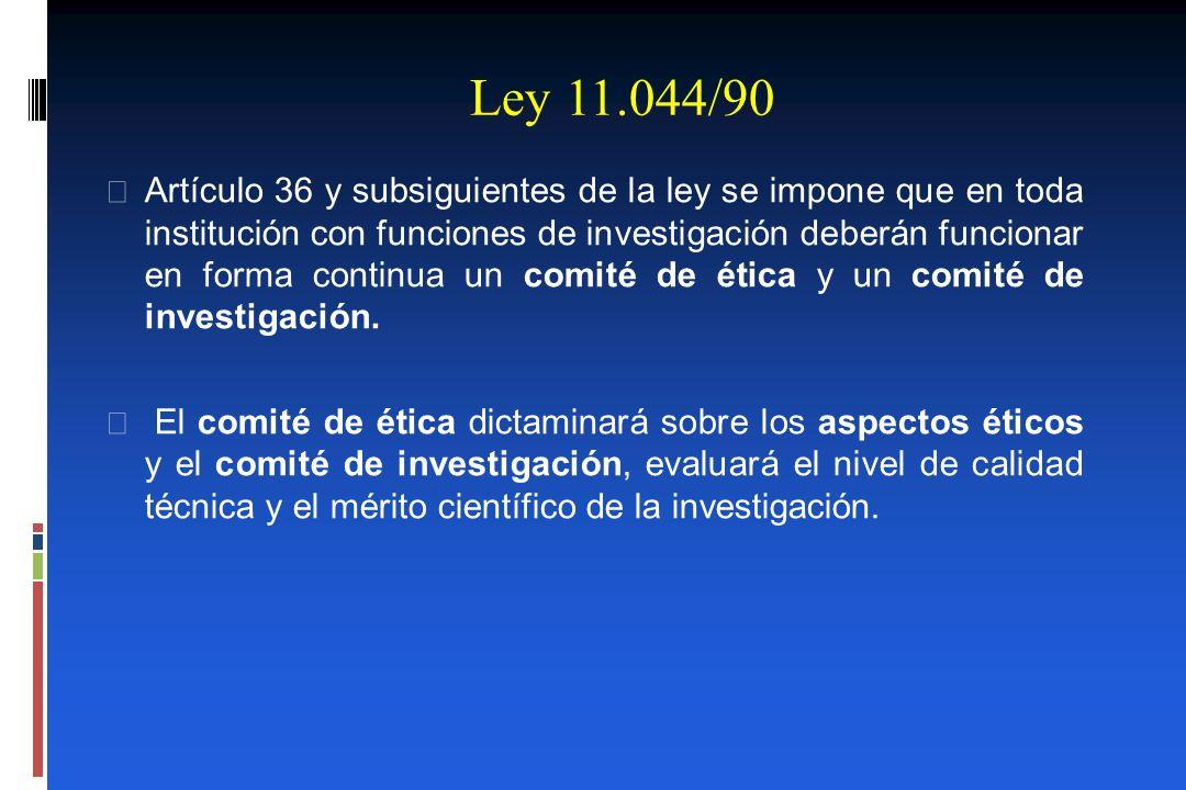 Ley 11.044/90