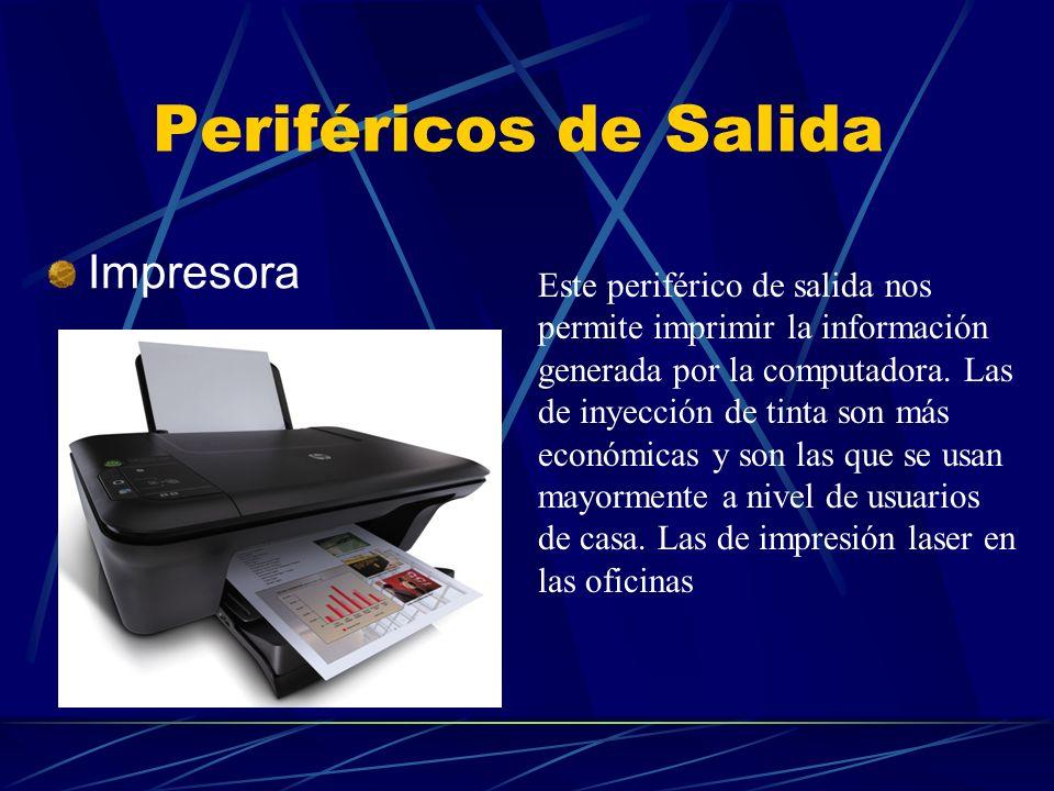 Periféricos de Salida Impresora