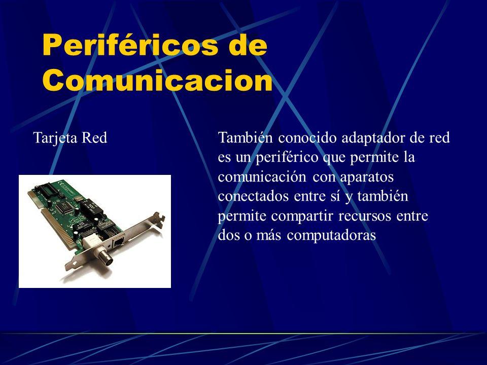 Periféricos de Comunicacion