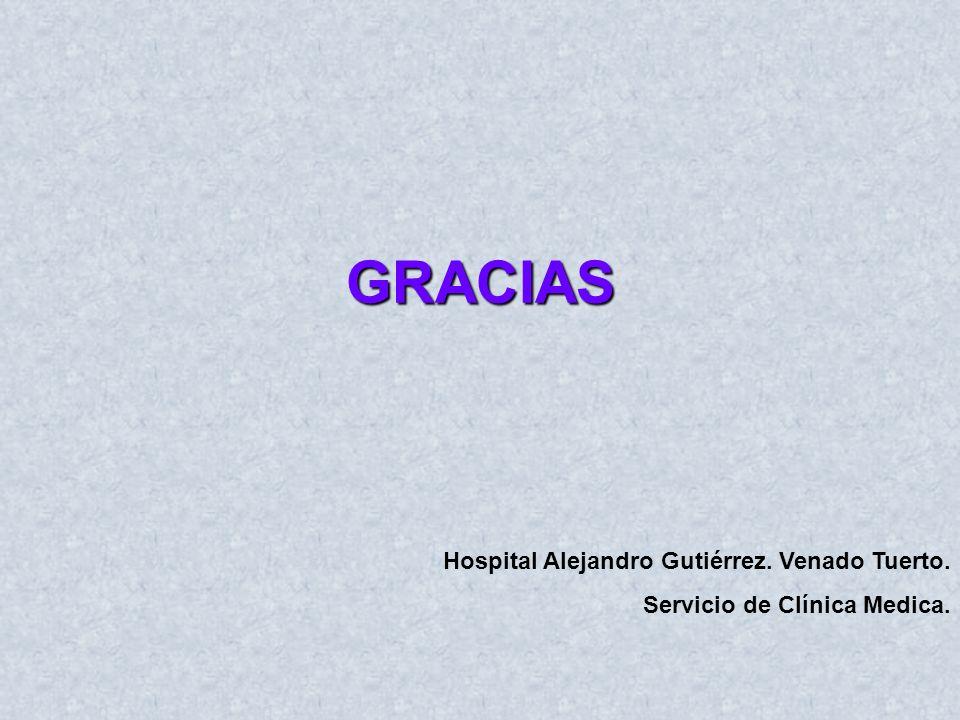 GRACIAS Hospital Alejandro Gutiérrez. Venado Tuerto.