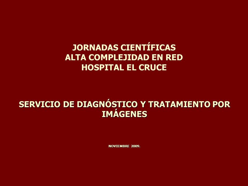 JORNADAS CIENTÍFICAS ALTA COMPLEJIDAD EN RED HOSPITAL EL CRUCE