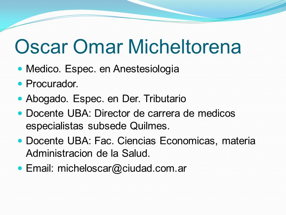 Oscar Omar Micheltorena