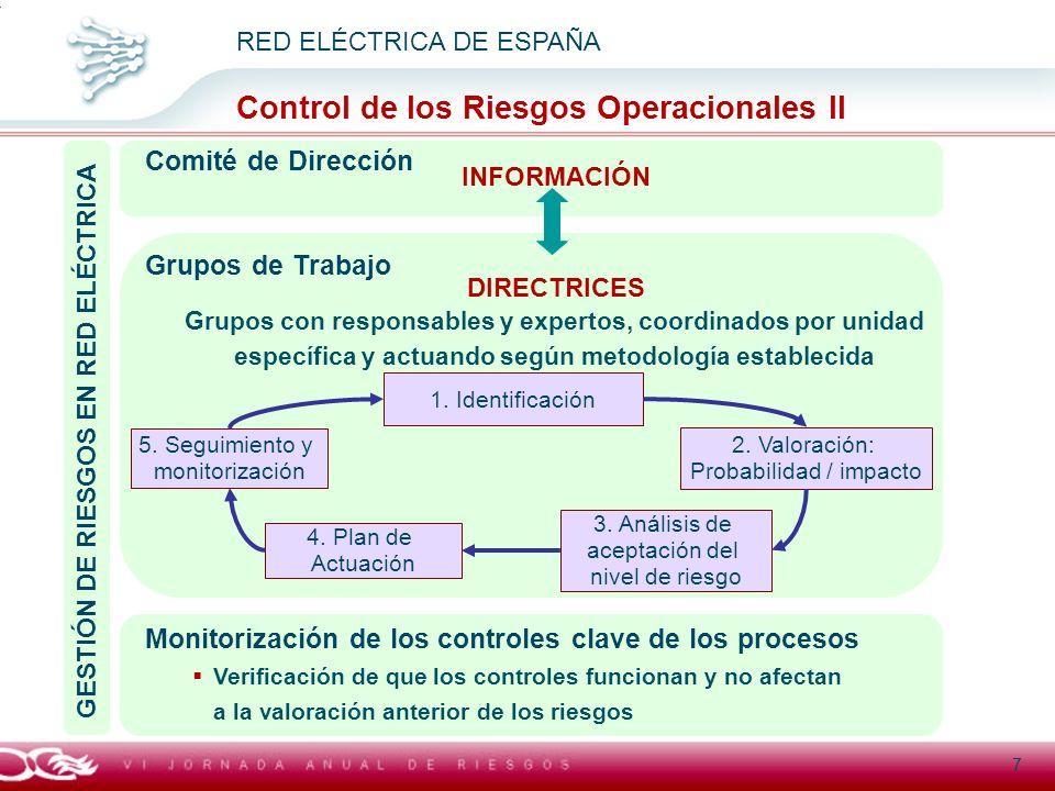 GESTIÓN DE RIESGOS EN RED ELÉCTRICA