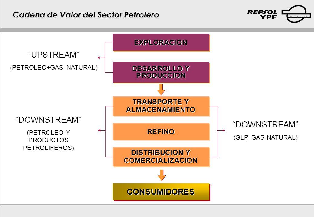 Cadena de Valor del Sector Petrolero