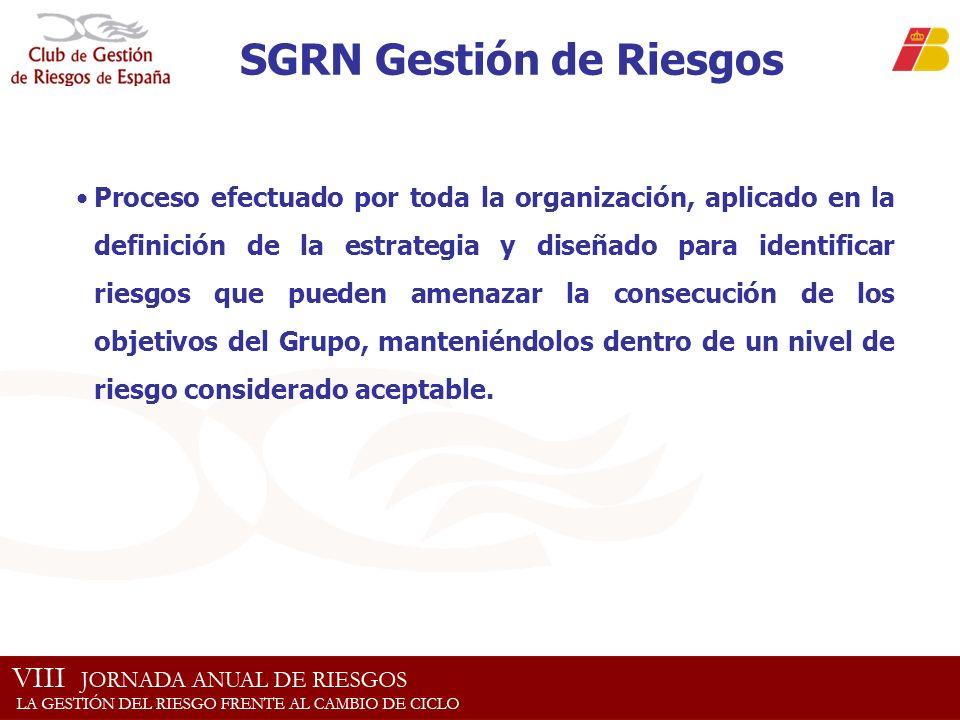 SGRN Gestión de Riesgos
