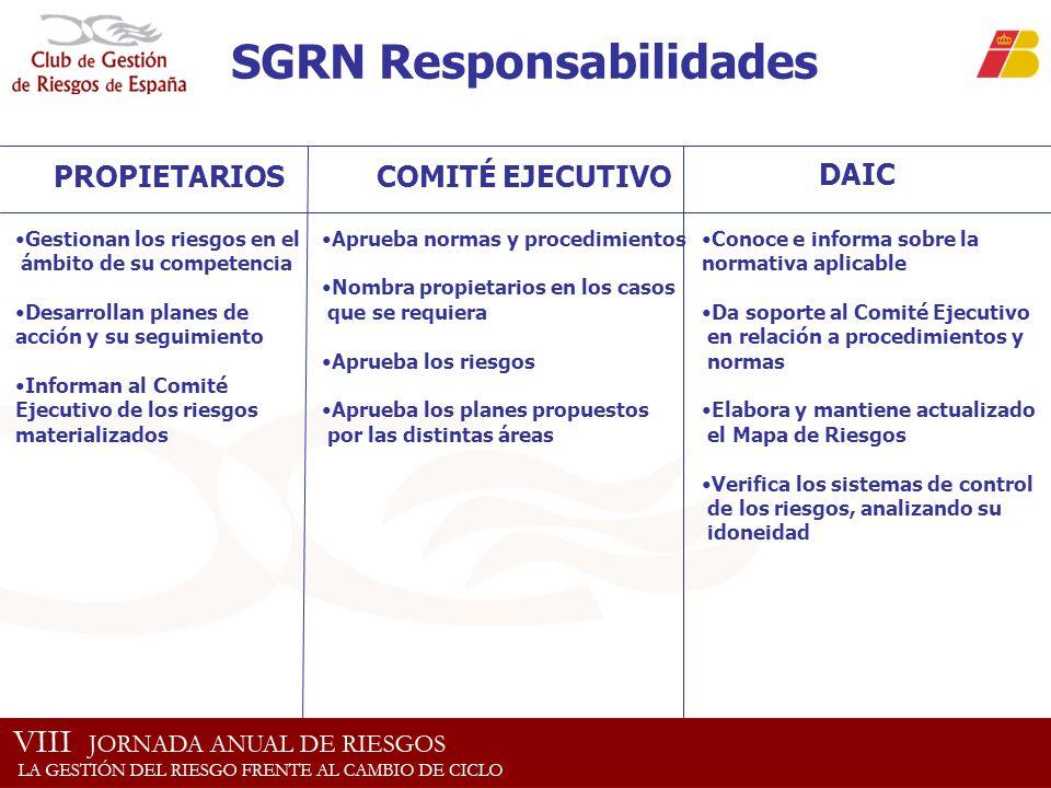 SGRN Responsabilidades