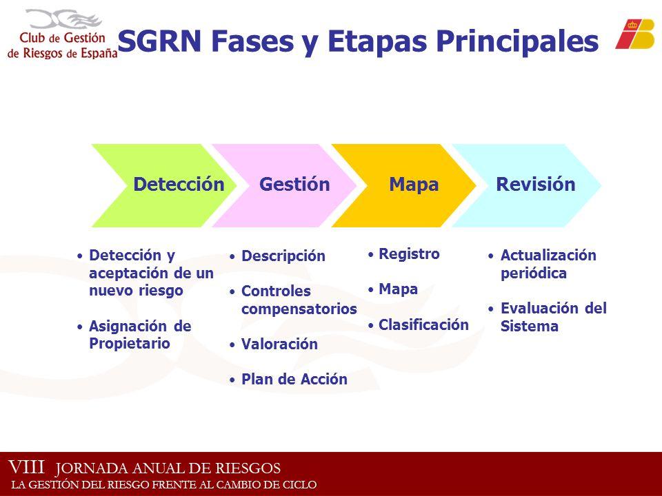 SGRN Fases y Etapas Principales