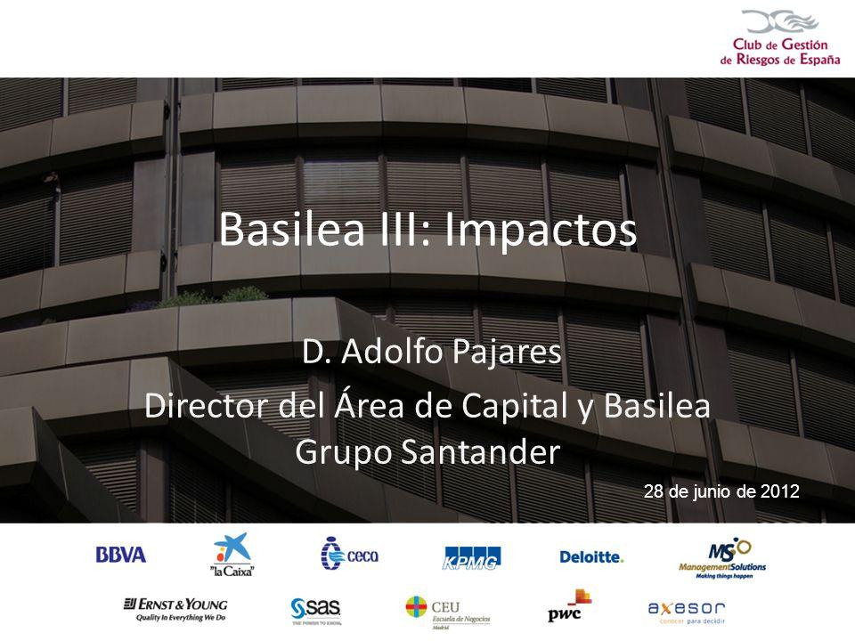 Director del Área de Capital y Basilea Grupo Santander