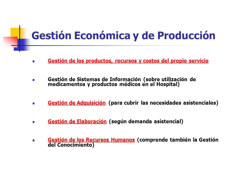 Gestión Económica y de Producción