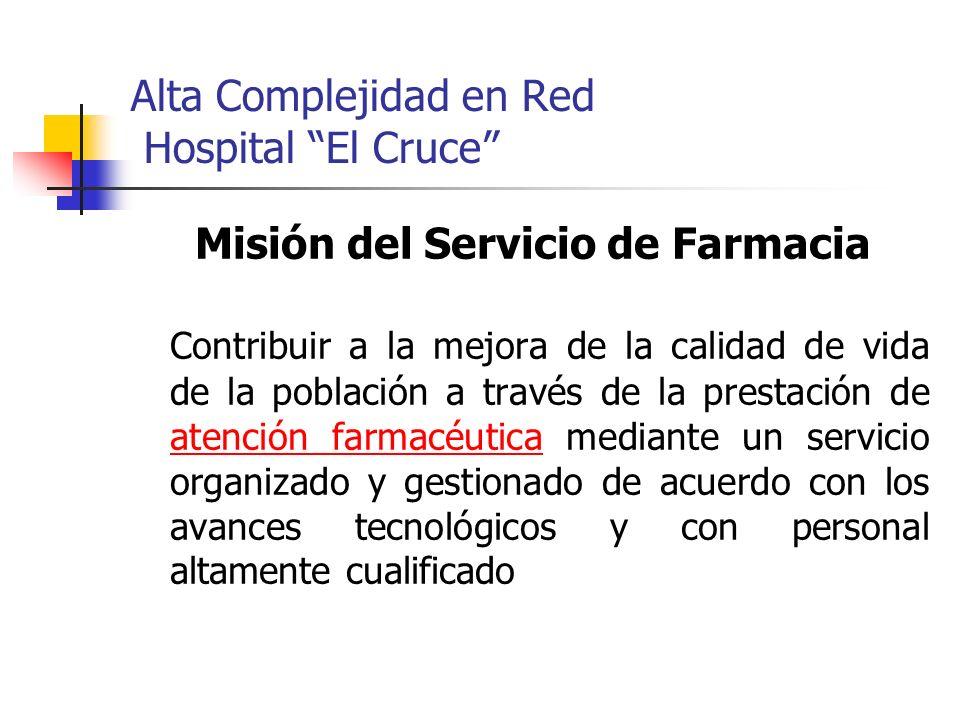 Alta Complejidad en Red Hospital El Cruce