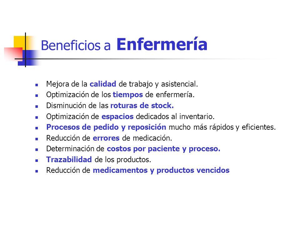 Beneficios a Enfermería