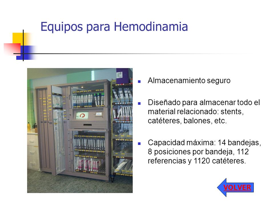 Equipos para Hemodinamia