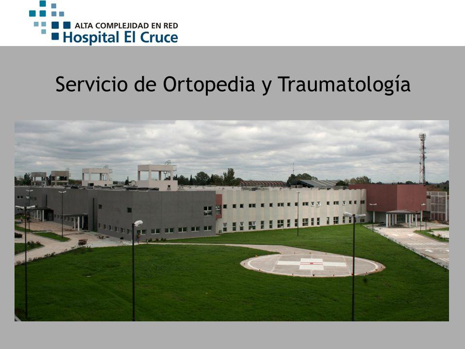 Servicio de Ortopedia y Traumatología