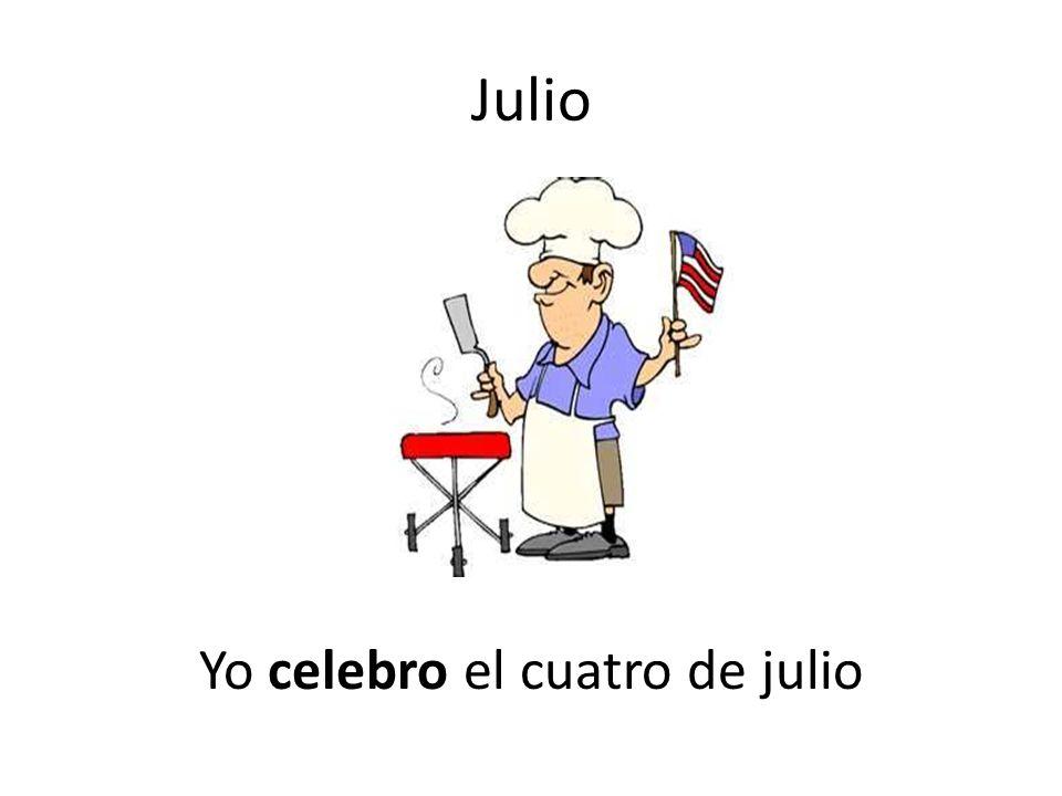 Yo celebro el cuatro de julio