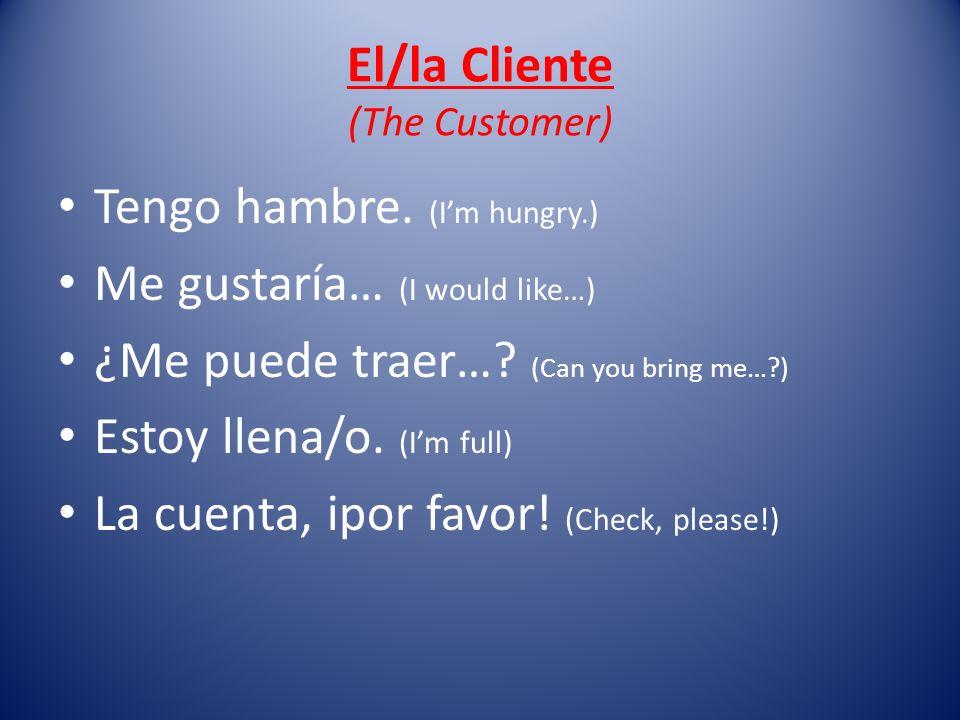 El/la Cliente (The Customer)