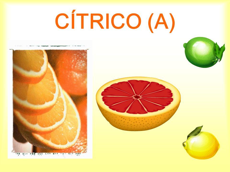 CÍTRICO (A)