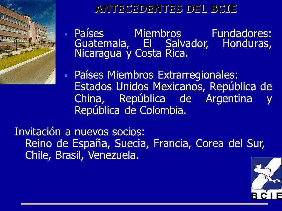 Países Miembros Extrarregionales: