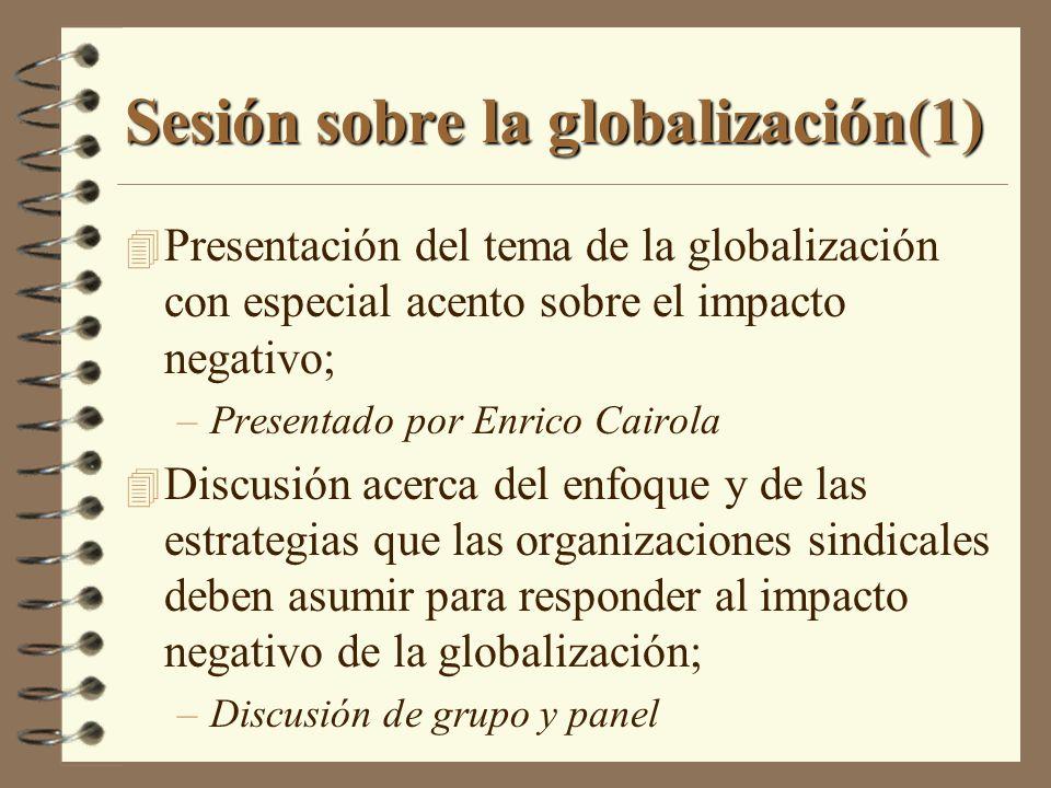 Sesión sobre la globalización(1)
