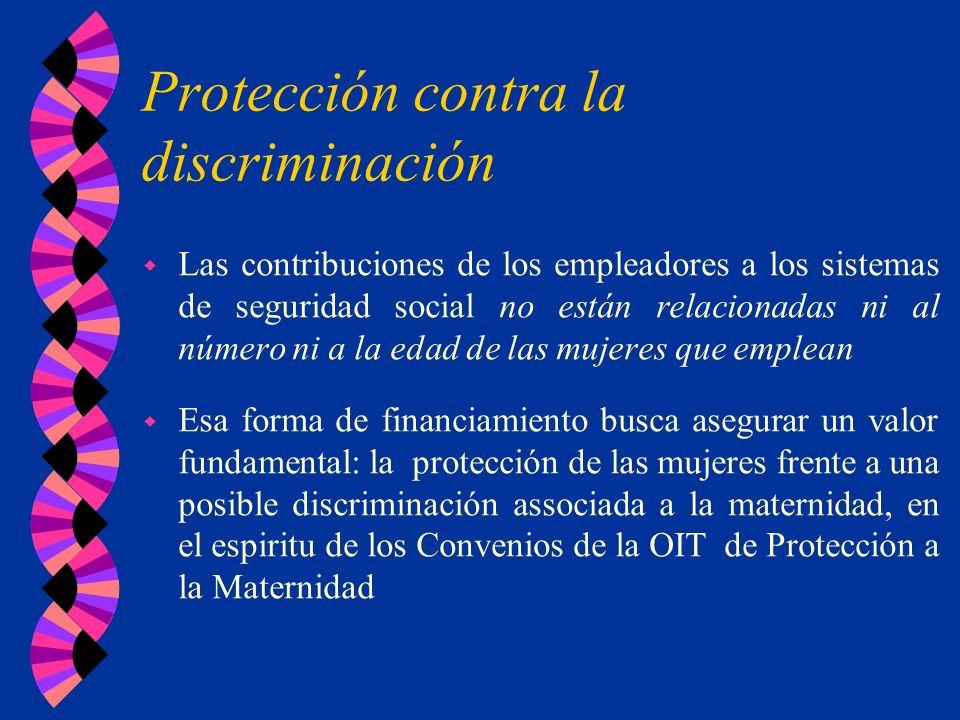 Protección contra la discriminación