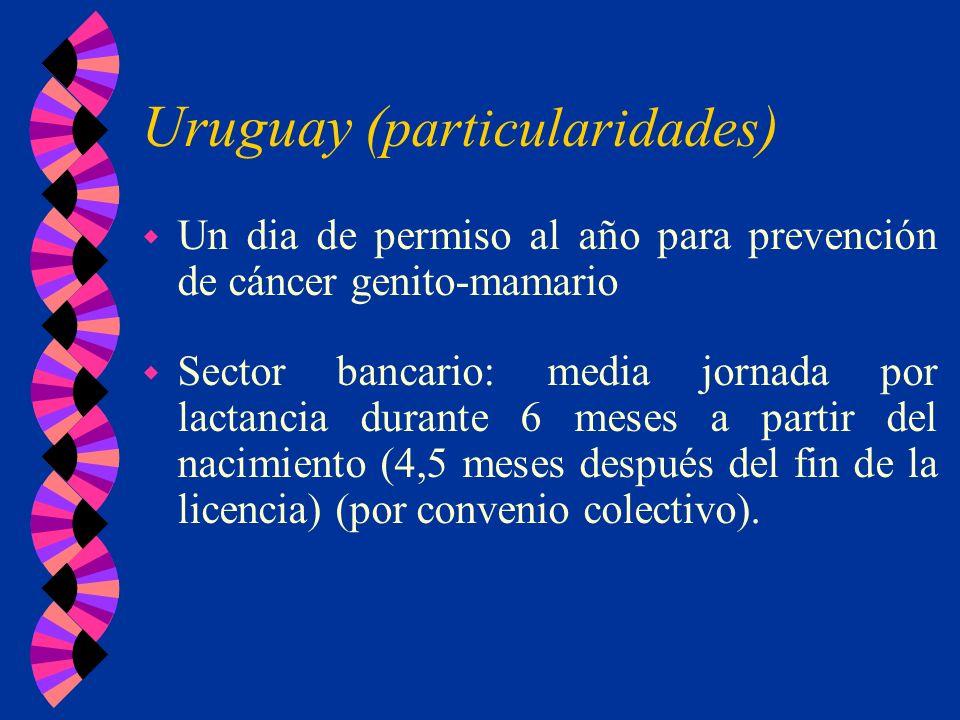 Uruguay (particularidades)