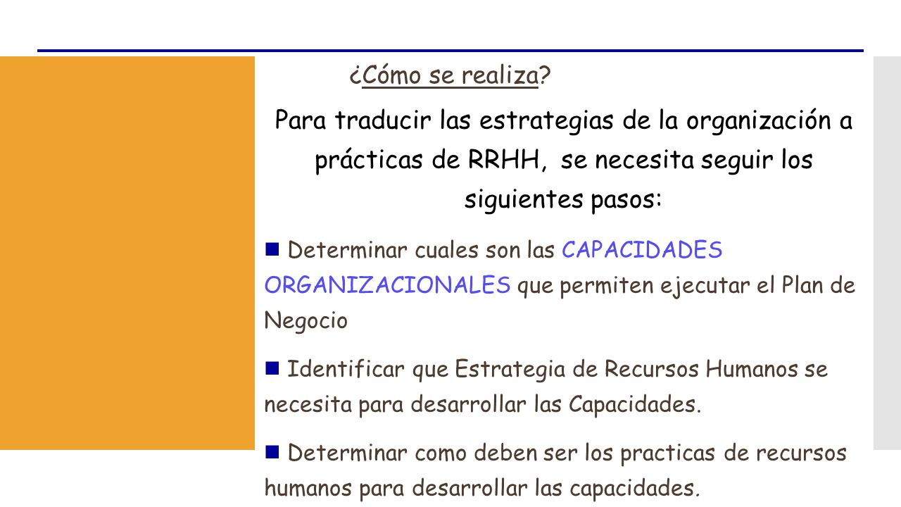 PLAN ESTRATEGICO DE RECURSOS HUMANOS - ppt video online descargar