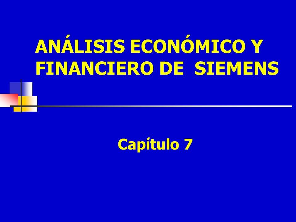 ANÁLISIS ECONÓMICO Y FINANCIERO DE SIEMENS