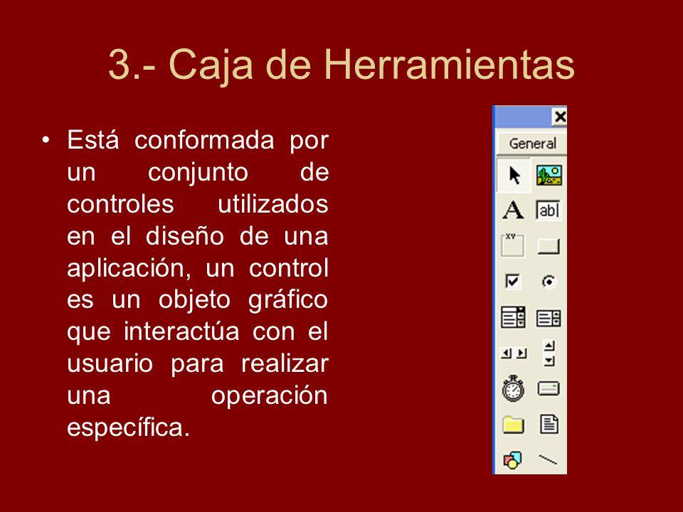 3.- Caja de Herramientas
