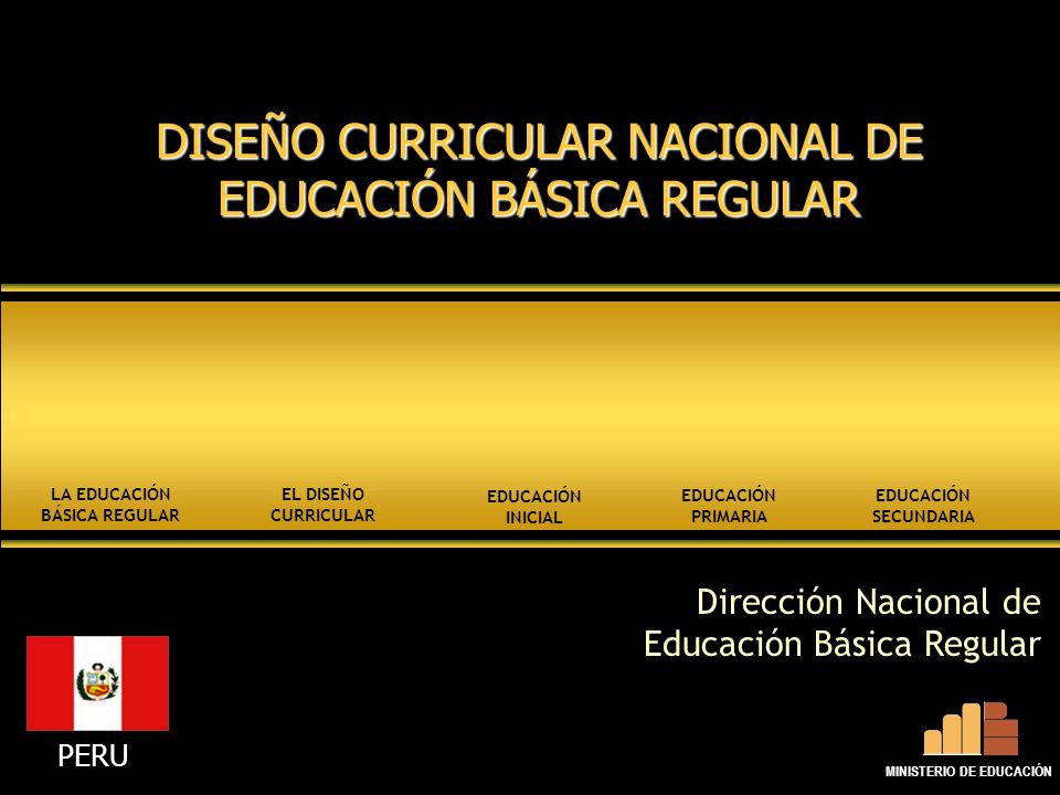 La Educación Básica Regular Ministerio De Educación Ppt
