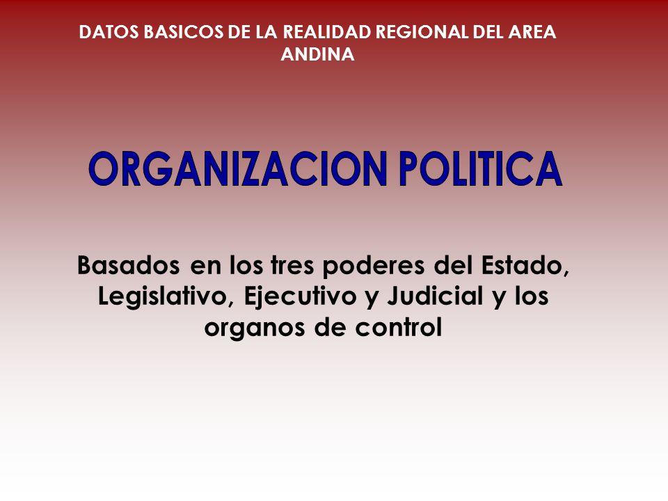ORGANIZACION POLITICA