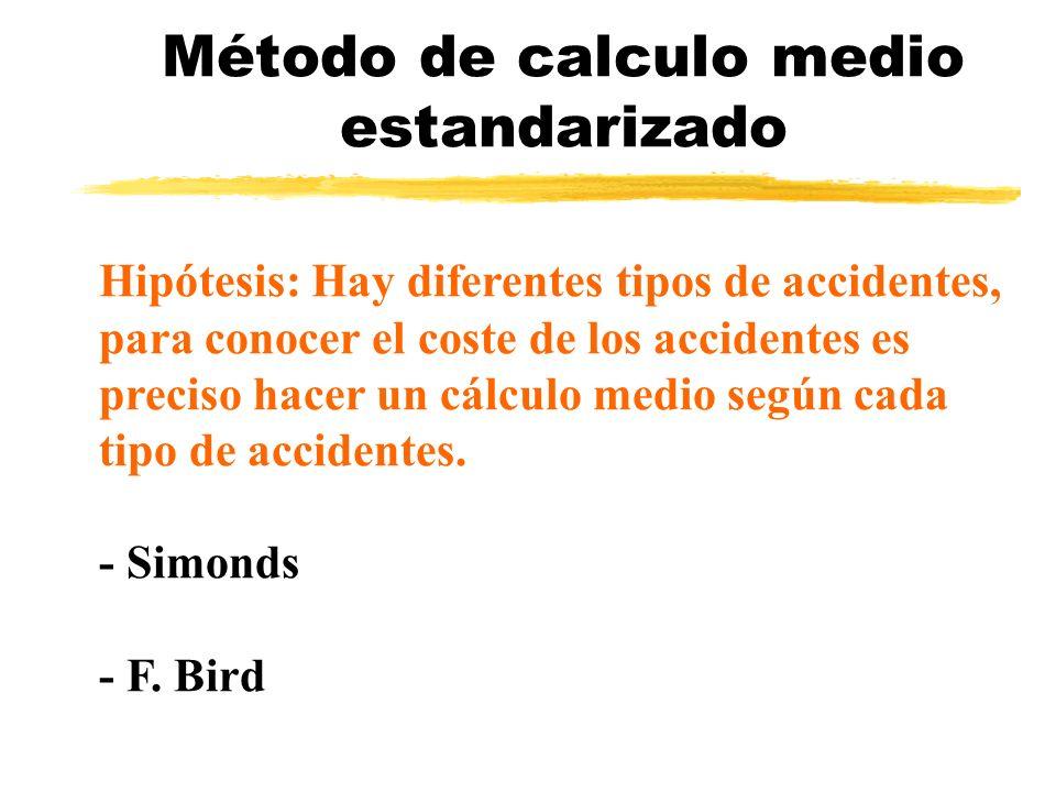 Método de calculo medio estandarizado