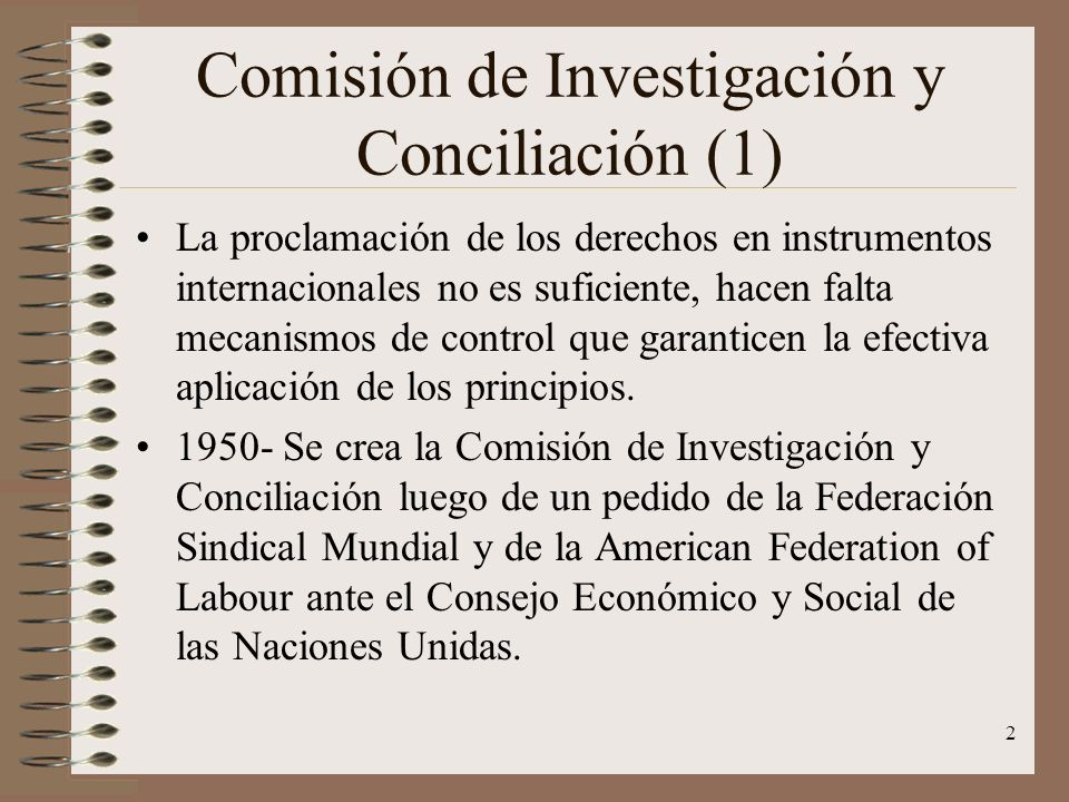 Comisión de Investigación y Conciliación (1)
