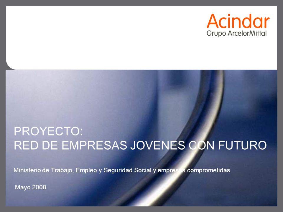 PROYECTO: RED DE EMPRESAS JOVENES CON FUTURO Ministerio de Trabajo, Empleo y Seguridad Social y empresas comprometidas