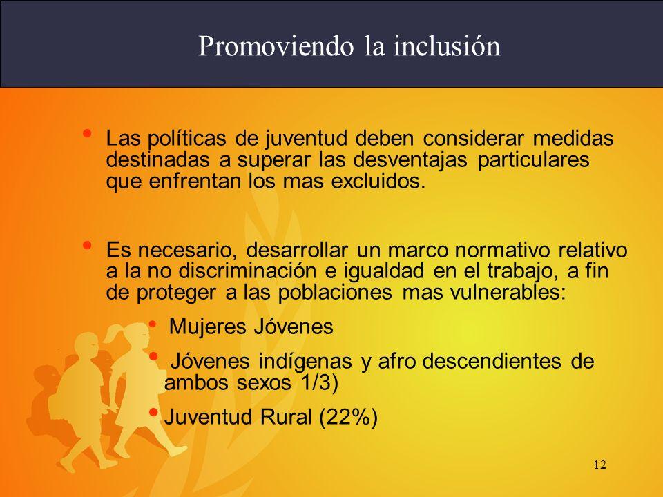 Promoviendo la inclusión