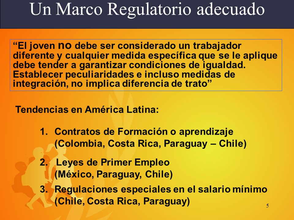 Un Marco Regulatorio adecuado