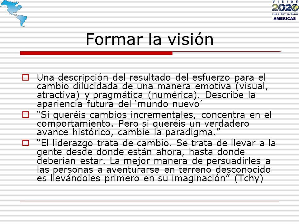 Formar la visión