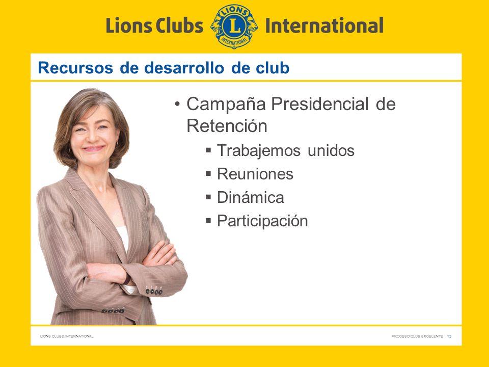 Recursos de desarrollo de club