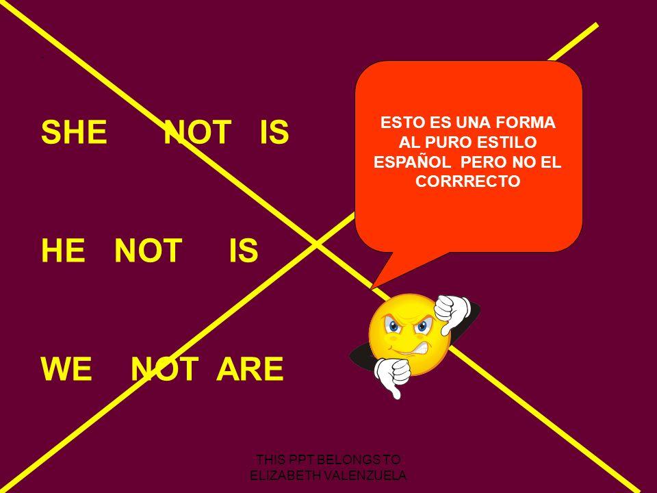 ESTO ES UNA FORMA AL PURO ESTILO ESPAÑOL PERO NO EL CORRRECTO