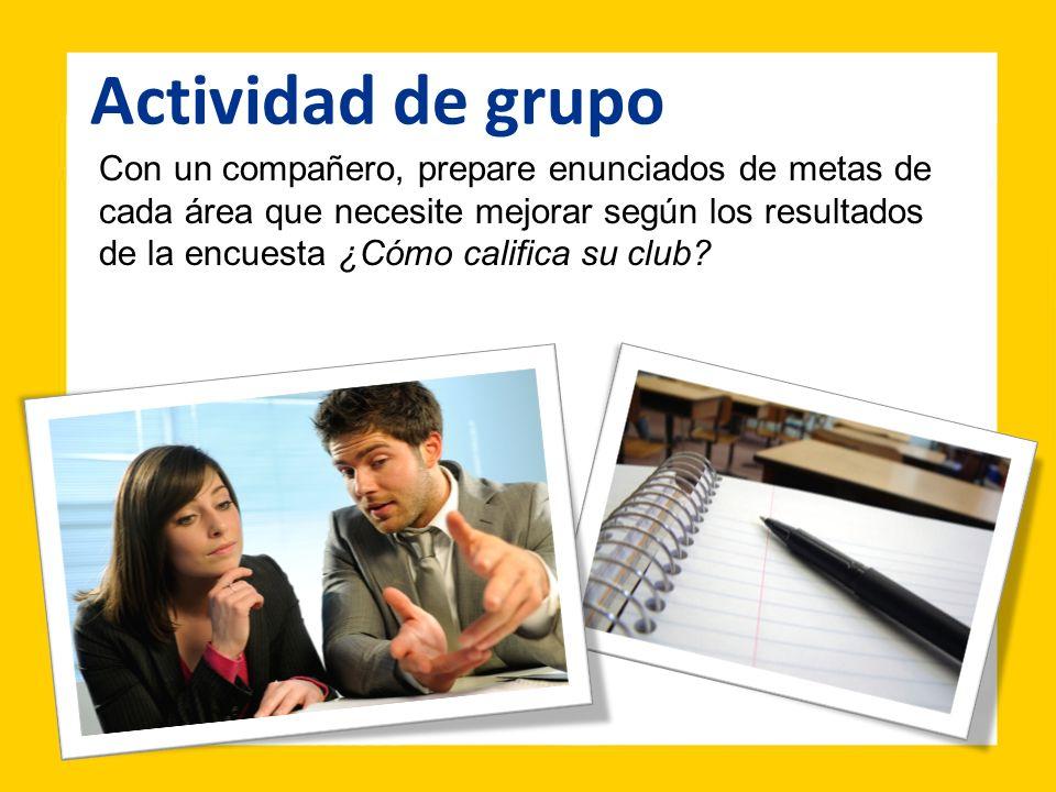 Actividad de grupo