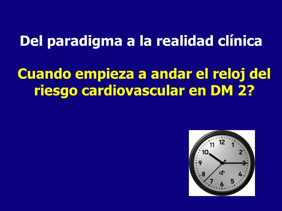 Del paradigma a la realidad clínica