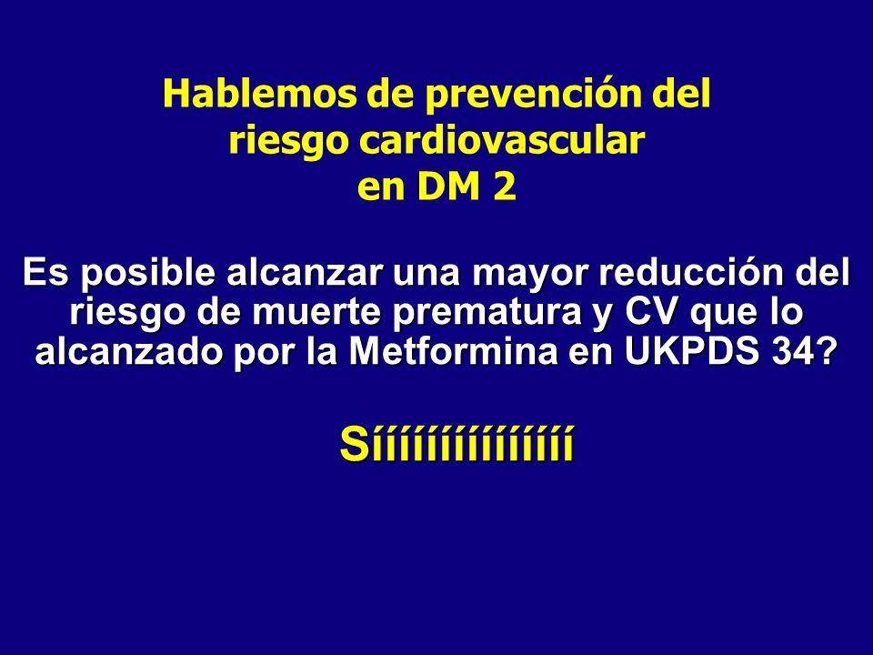 Hablemos de prevención del riesgo cardiovascular
