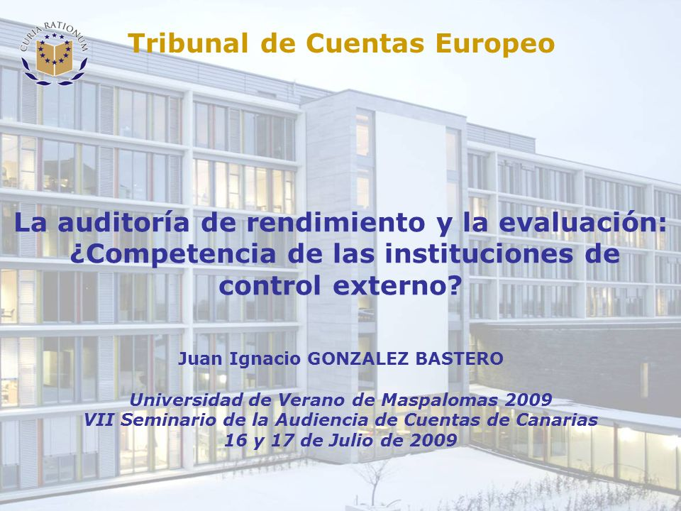 Tribunal de Cuentas Europeo