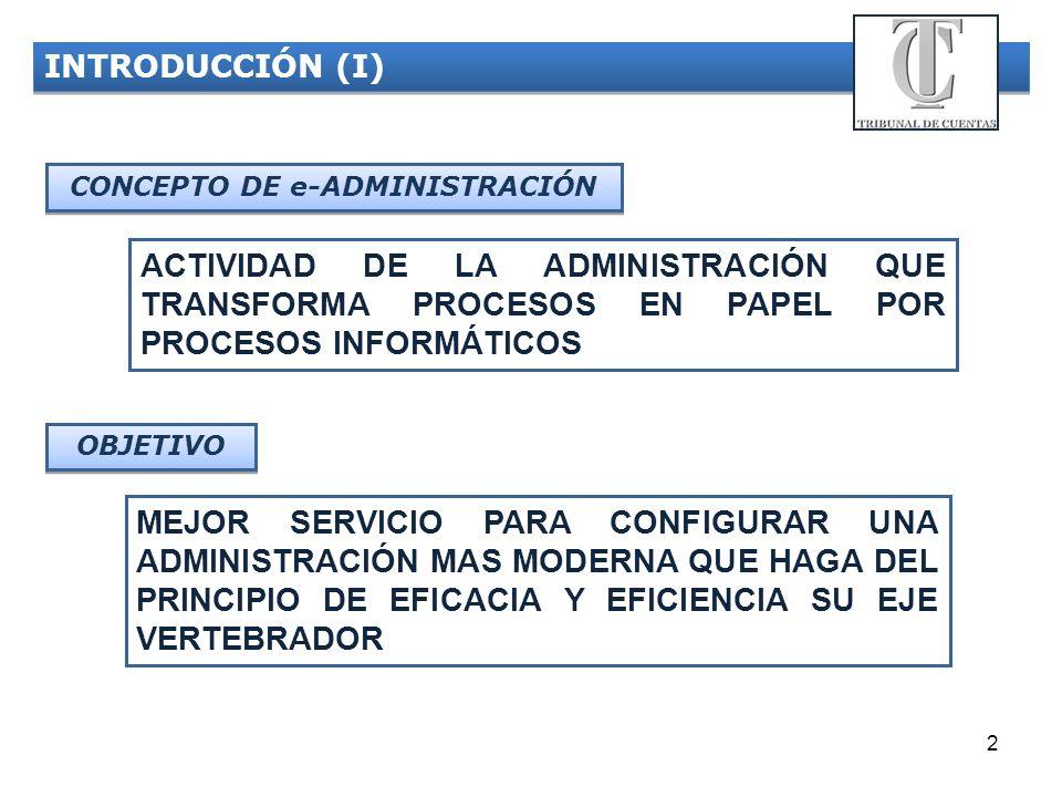 CONCEPTO DE e-ADMINISTRACIÓN