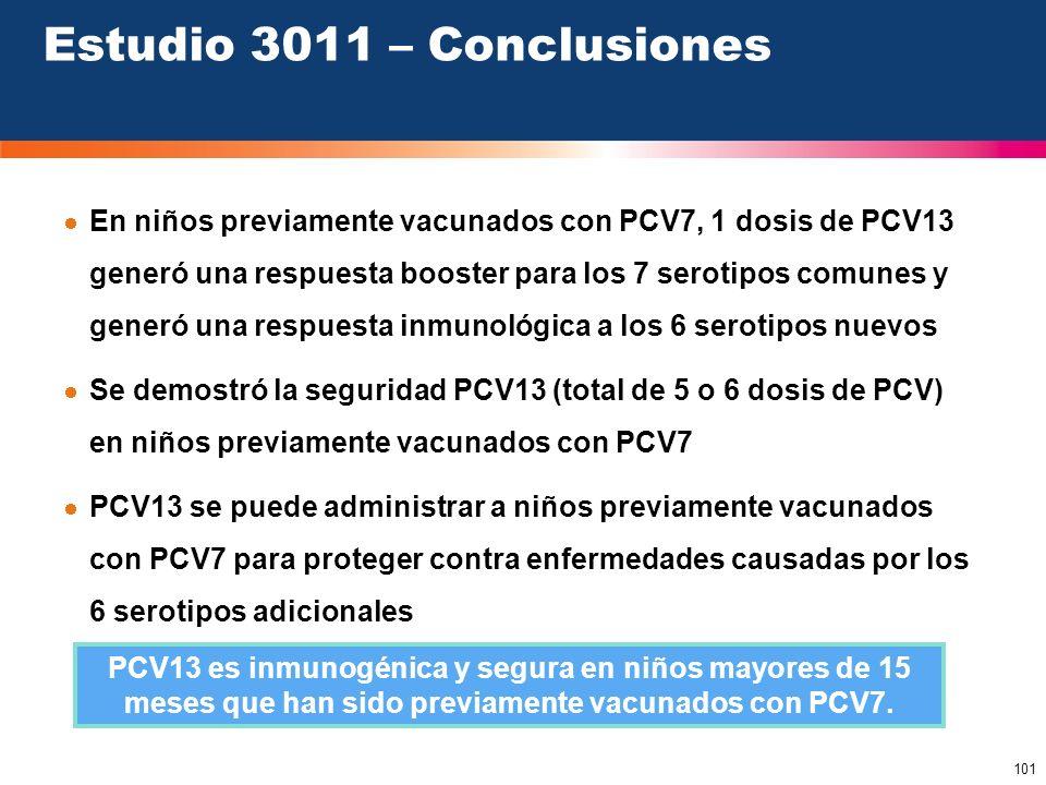 Estudio 3011 – Conclusiones