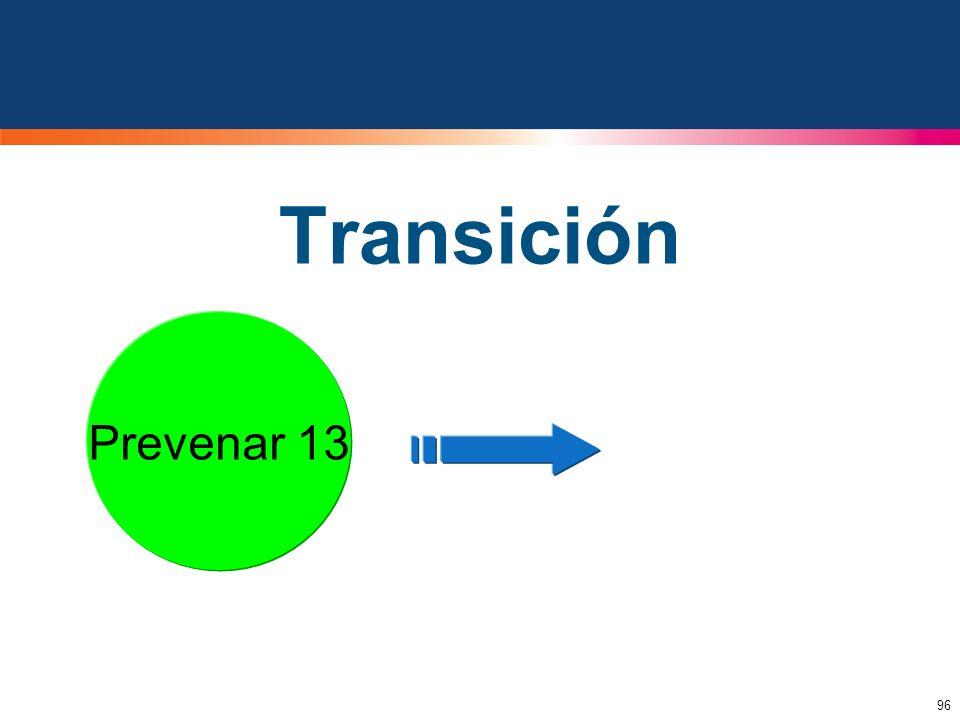 Transición Prevenar 13 Prevenar