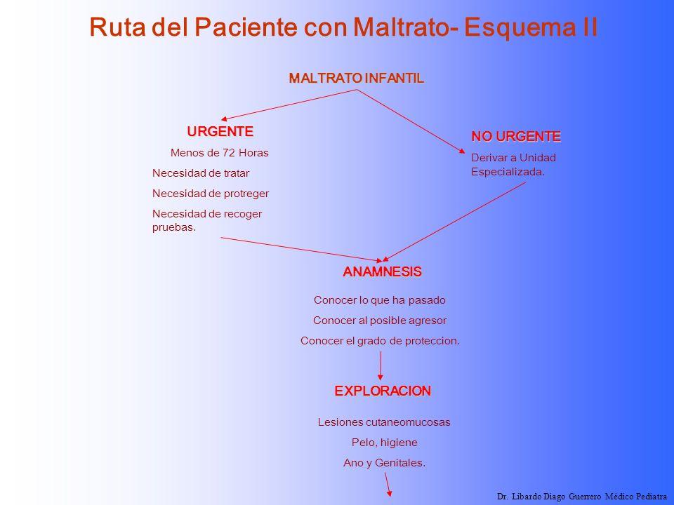 Ruta del Paciente con Maltrato- Esquema II