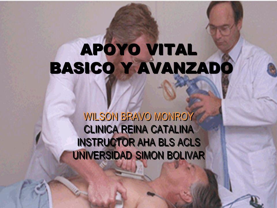 APOYO VITAL BASICO Y AVANZADO