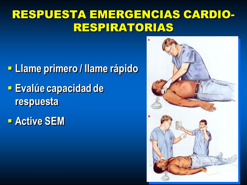 RESPUESTA EMERGENCIAS CARDIO-RESPIRATORIAS
