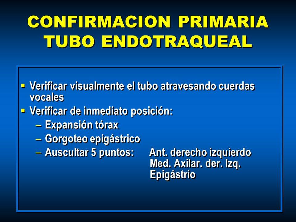 CONFIRMACION PRIMARIA TUBO ENDOTRAQUEAL