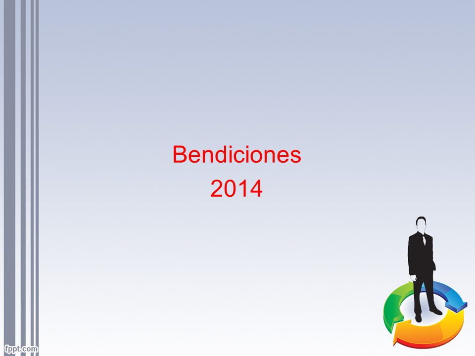 Bendiciones 2014